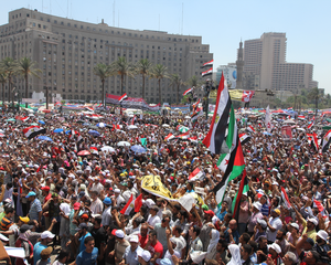 Tahrir SQ is waiting