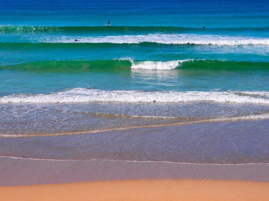 Killalea Beach Nice Waves
