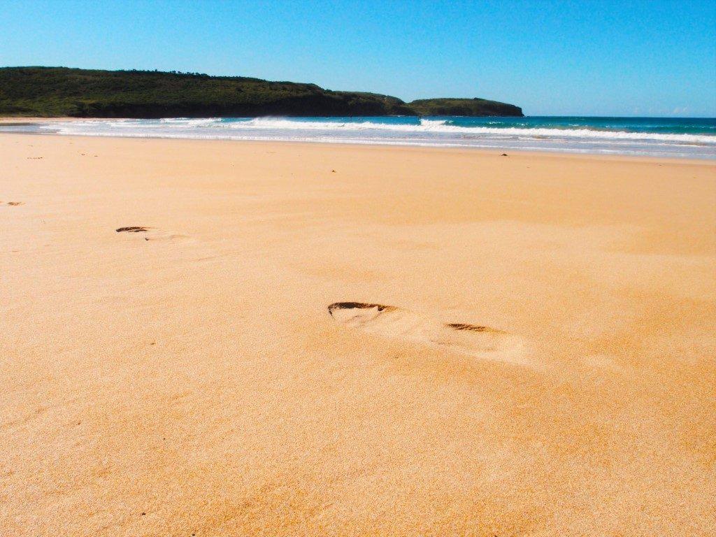 Killalea Beach Footprints