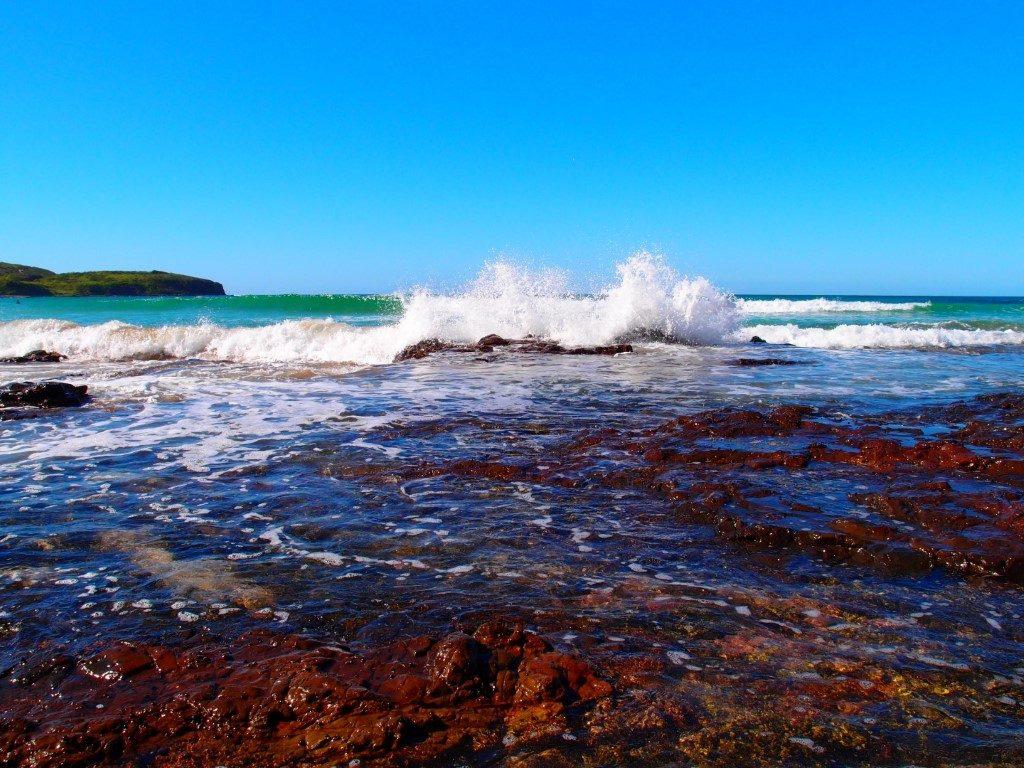Killalea Beach Rocks