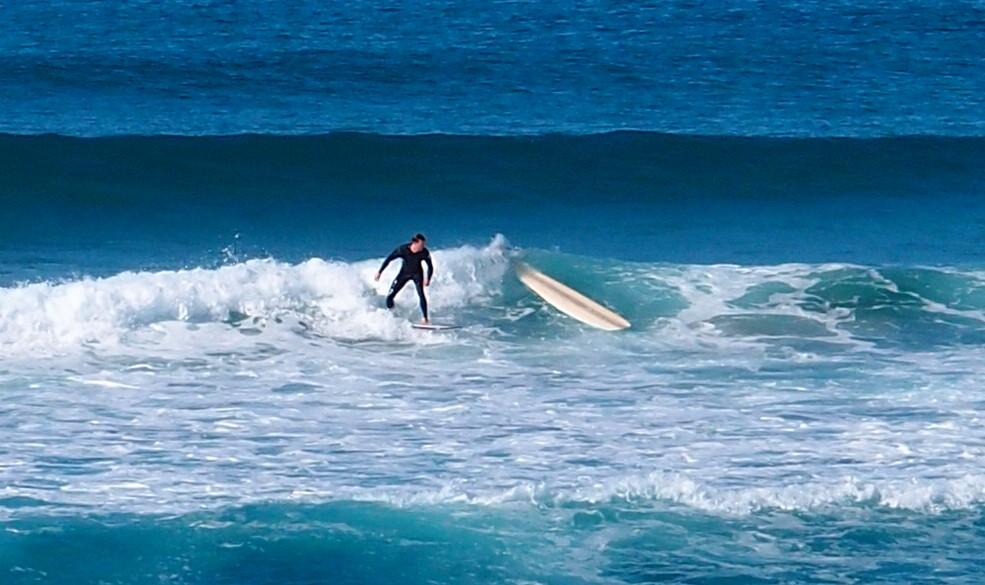 Killalea Beach Surfer Stacked It