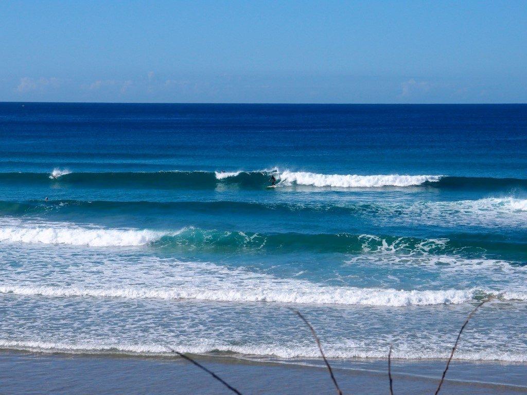Killalea Beach Great Waves