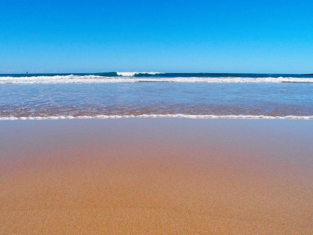 Killalea Beach Relax in Water
