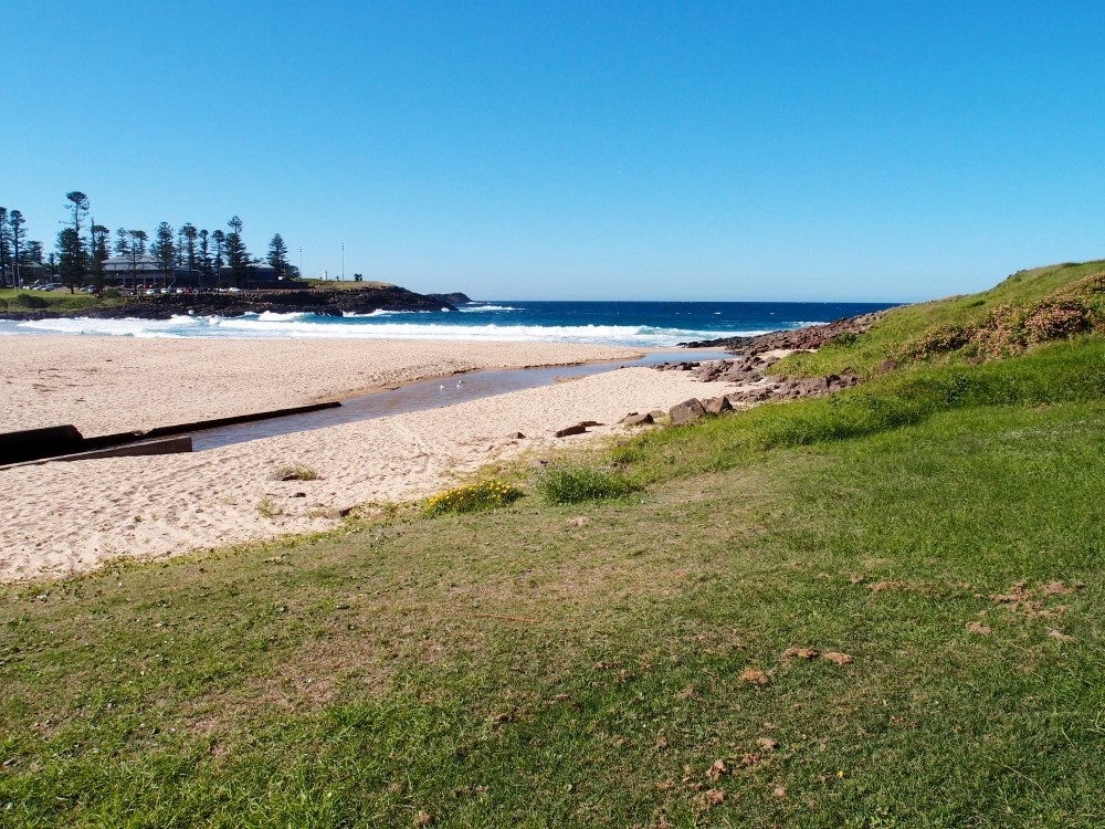 Kiama Surf Beach offers spectacular views