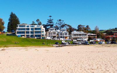 Nice properties being built in Kiama Surf Beach
