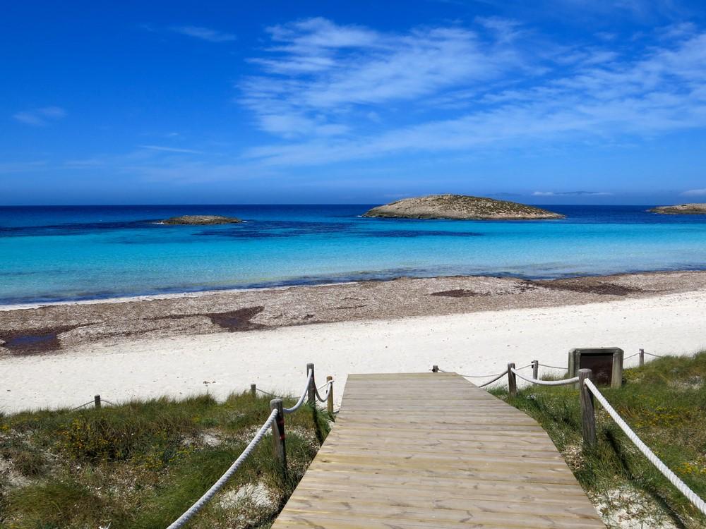 Playa de Ses Illetes Formentera Spain