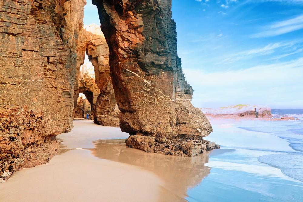 Playa de Las Catedrales Galicia Spain