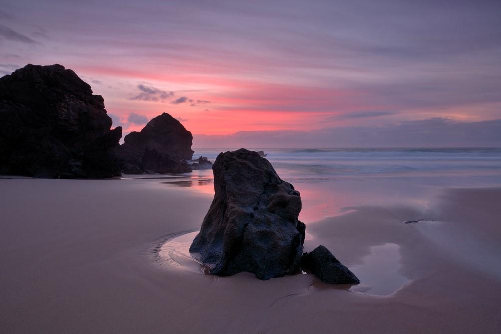 Sintra-Cascais Beach, Praia da Adraga, Portugal