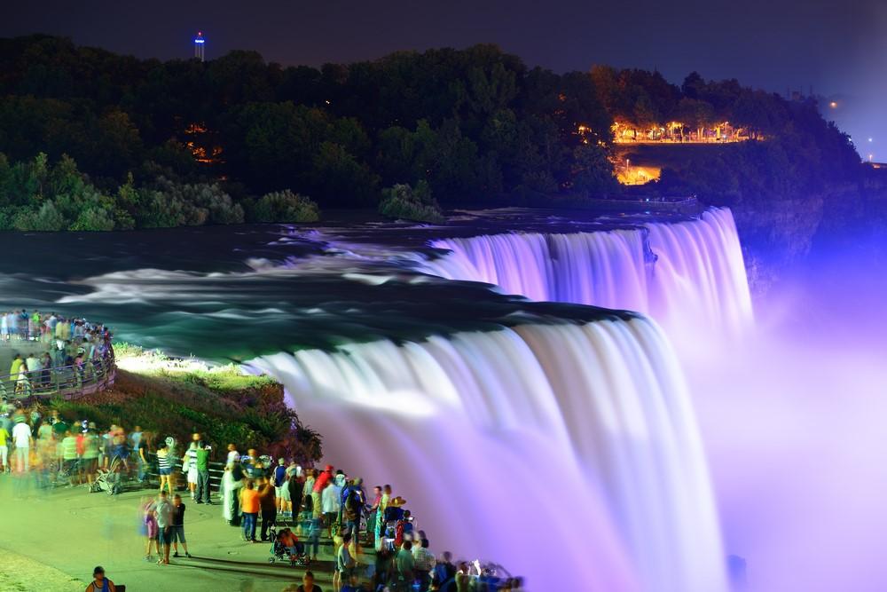 Niagra Falls Canada United States