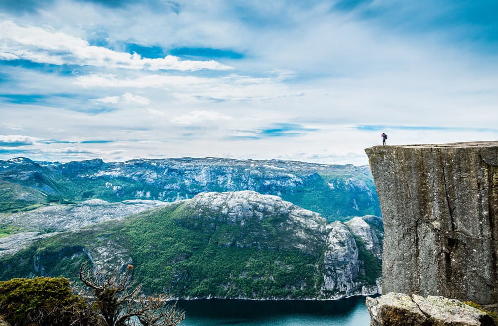 Most Stunning Places -Preikestolen