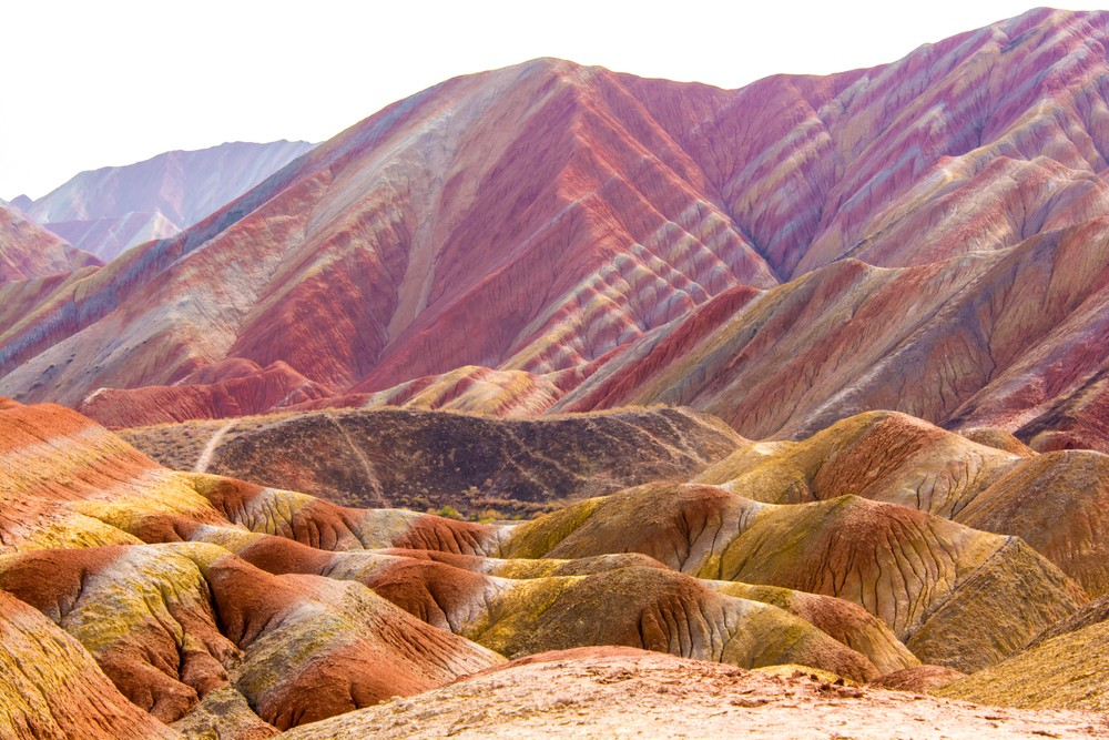Most Stunning Places - Rainbow Mountains