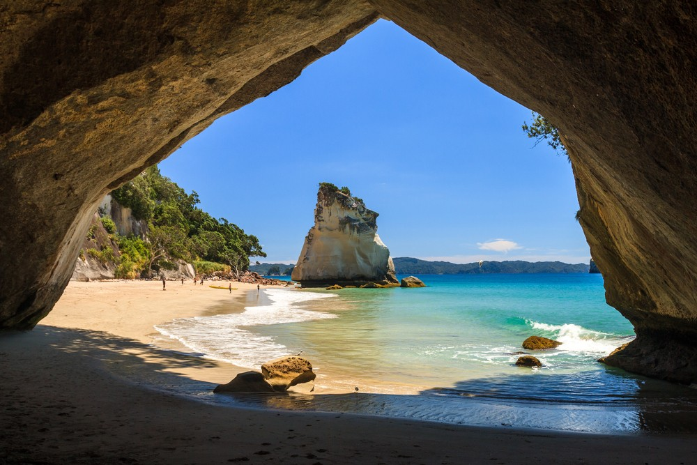 Best Time of Year to Go to New Zealand - Cathedral Cove