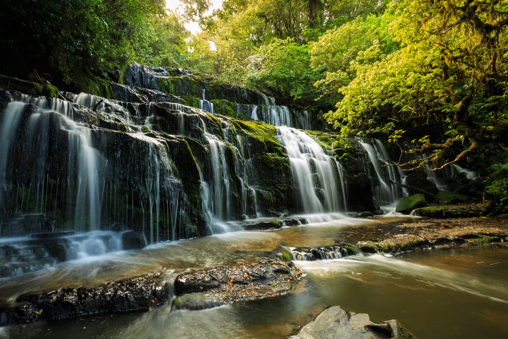 Best Time of Year to Go to New Zealand - Purakaunui Falls