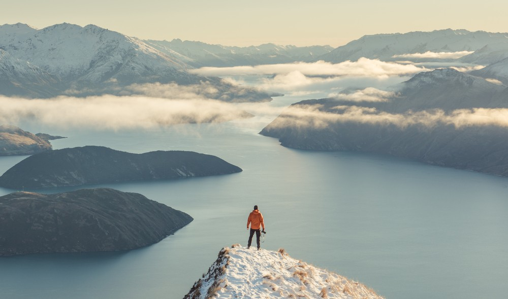 Best Time of Year to Go to New Zealand - Roys Peak