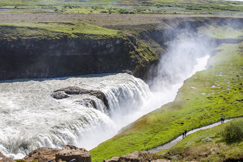 When is the Best Time to Visit Iceland - Gullfoss