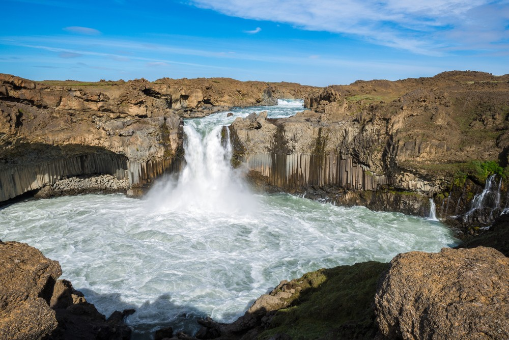 When is the Best Time to Visit Iceland - Aldeyjarfoss