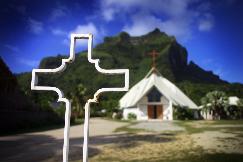 What to do in Bora Bora Paroisse Saint Pierre-Celestin Church (Vaitape)
