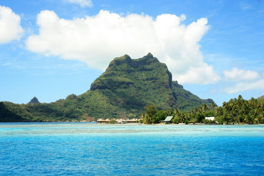 Bora Bora facts Volcanic eruption