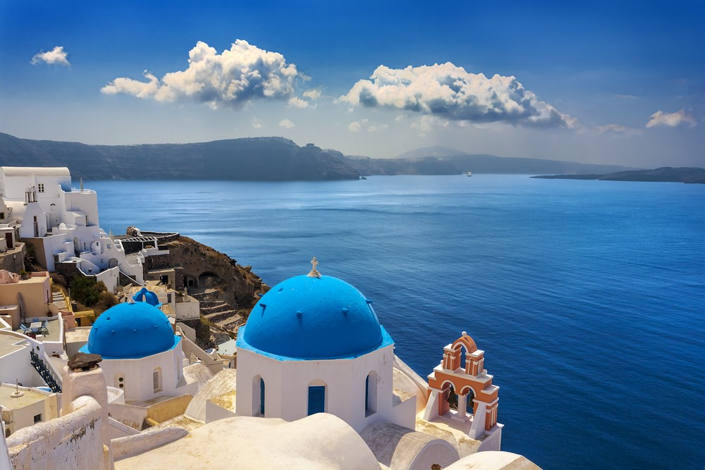 Summer destinations Santorini