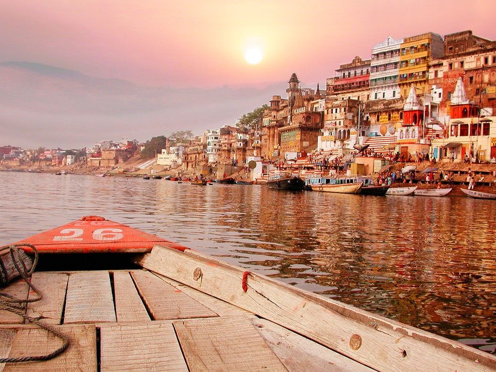 Things to do in India Sail on the river Ganges