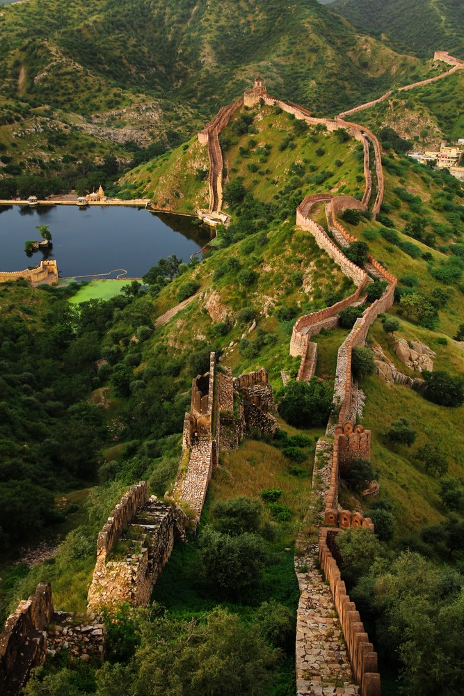 Things to do in India Visit the Great Wall in Rajsamand