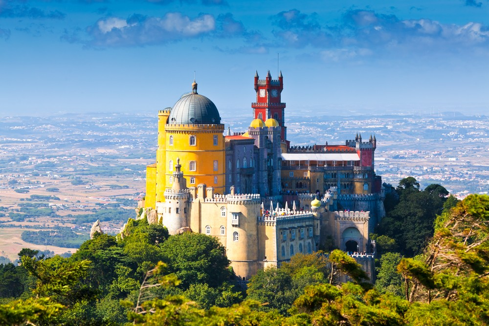20 Most Amazing Places to Visit Before You Die - Pena National Palace