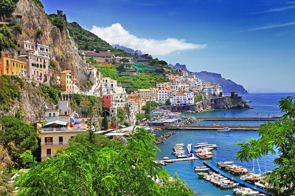 15 Italy Destinations You Must Visit - Amalfi Coast
