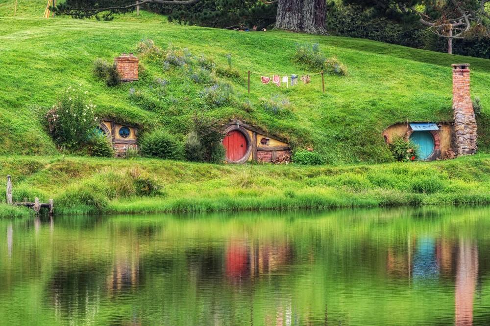 Destinations from films and TV Matamata, New Zealand