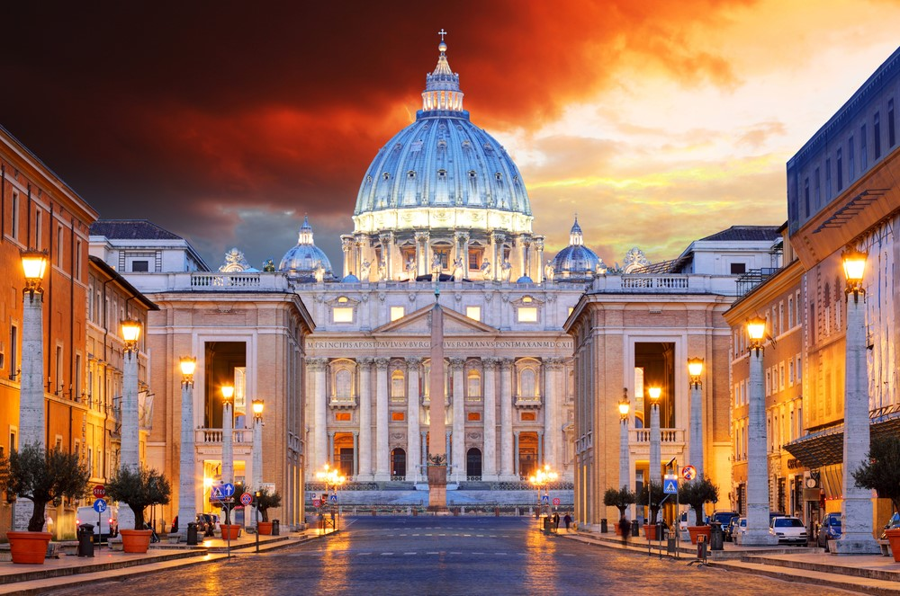 Destinations from films and TV Vatican City