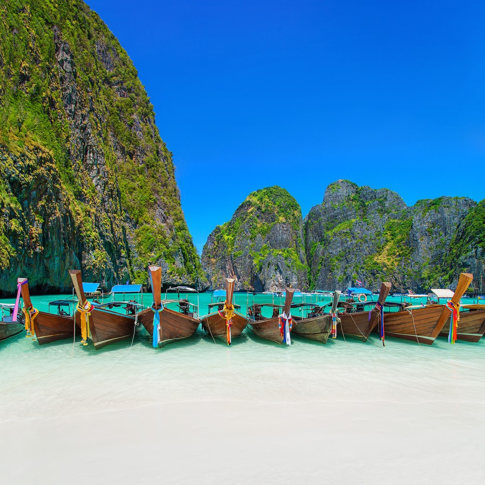 Destinations from films and TV Ko Phi Phi Leh, Thailand