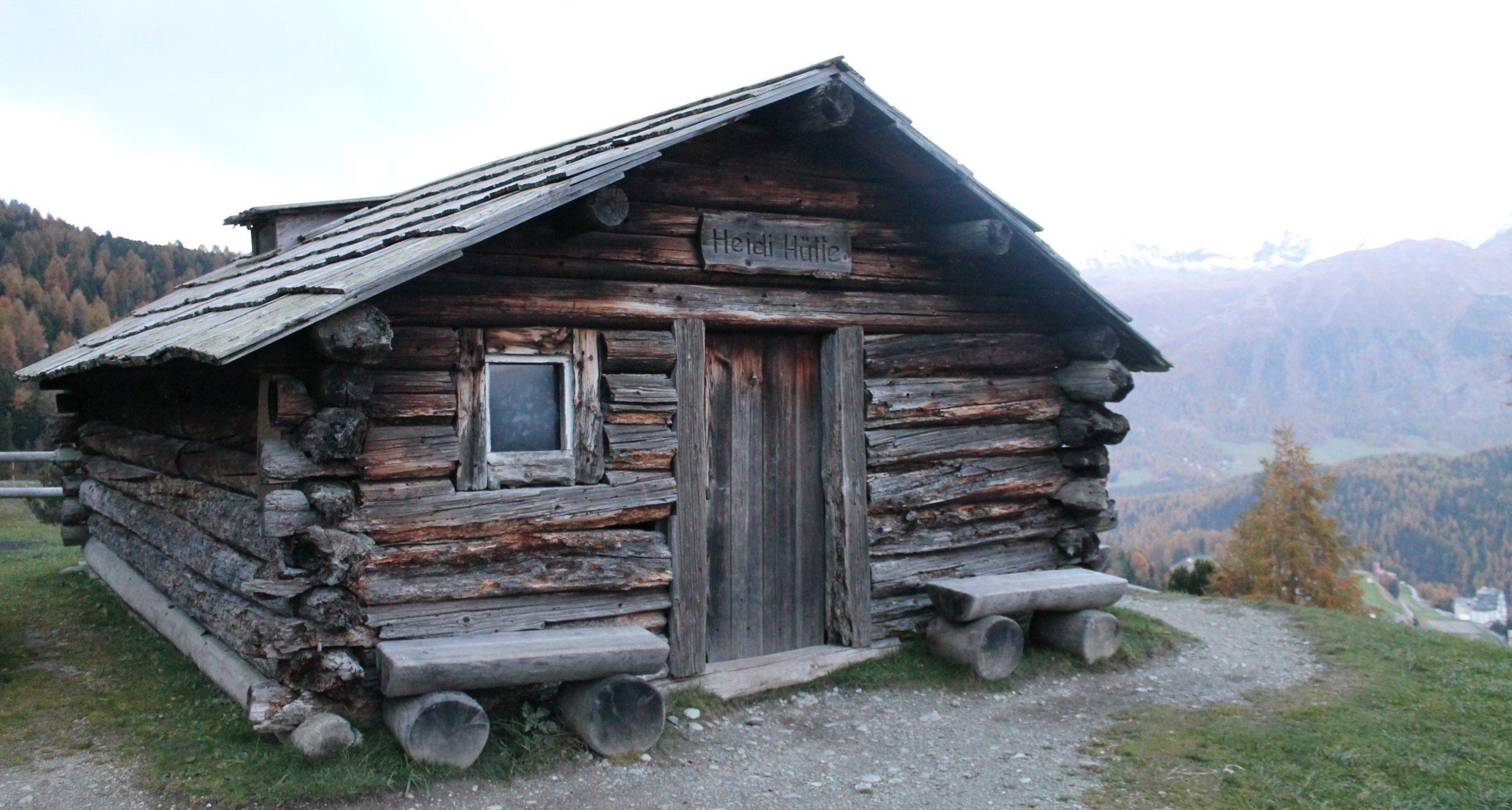 Diavolezza, Morteratsch Glacier and Heidi's Hut – St Moritz, Switzerland