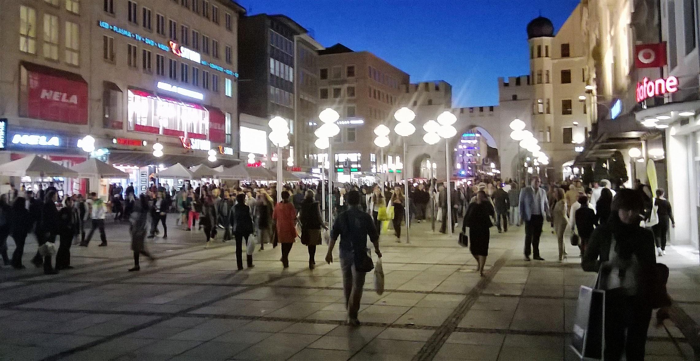 Shopping in Munich, Germany