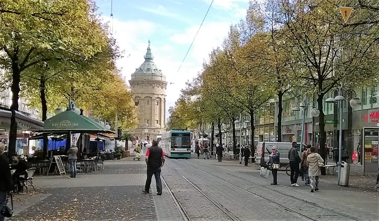 Mannheim Shopping then Munich, Germany