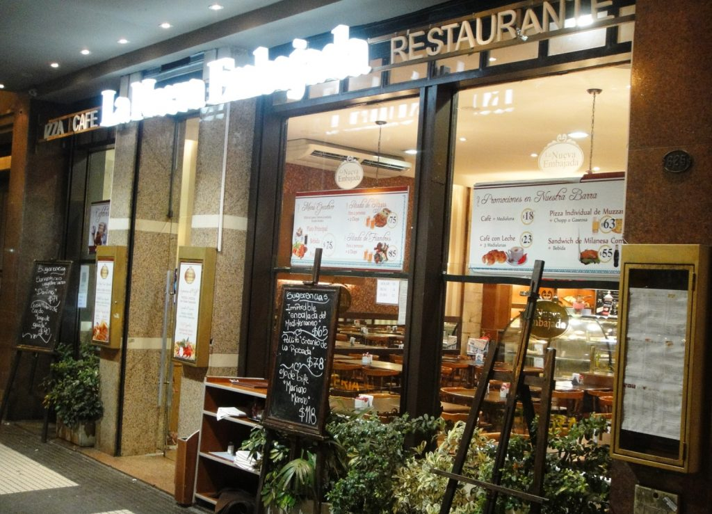 la nueva embajada buenos aires restaurant pizza