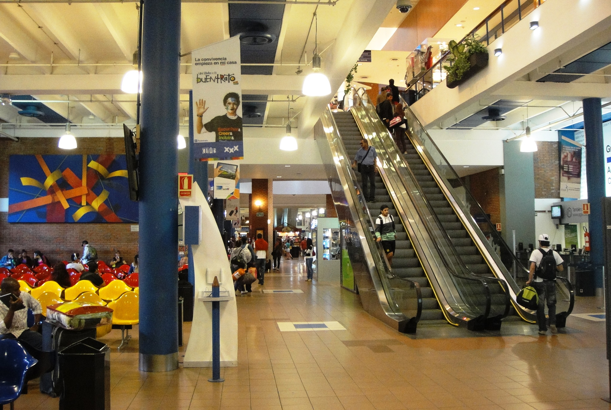 Tres Cruces mall montevideo bus terminal