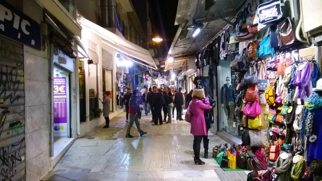 Pandrossou night market tbex athems