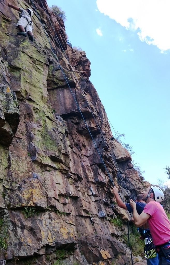 climbing at bronkies