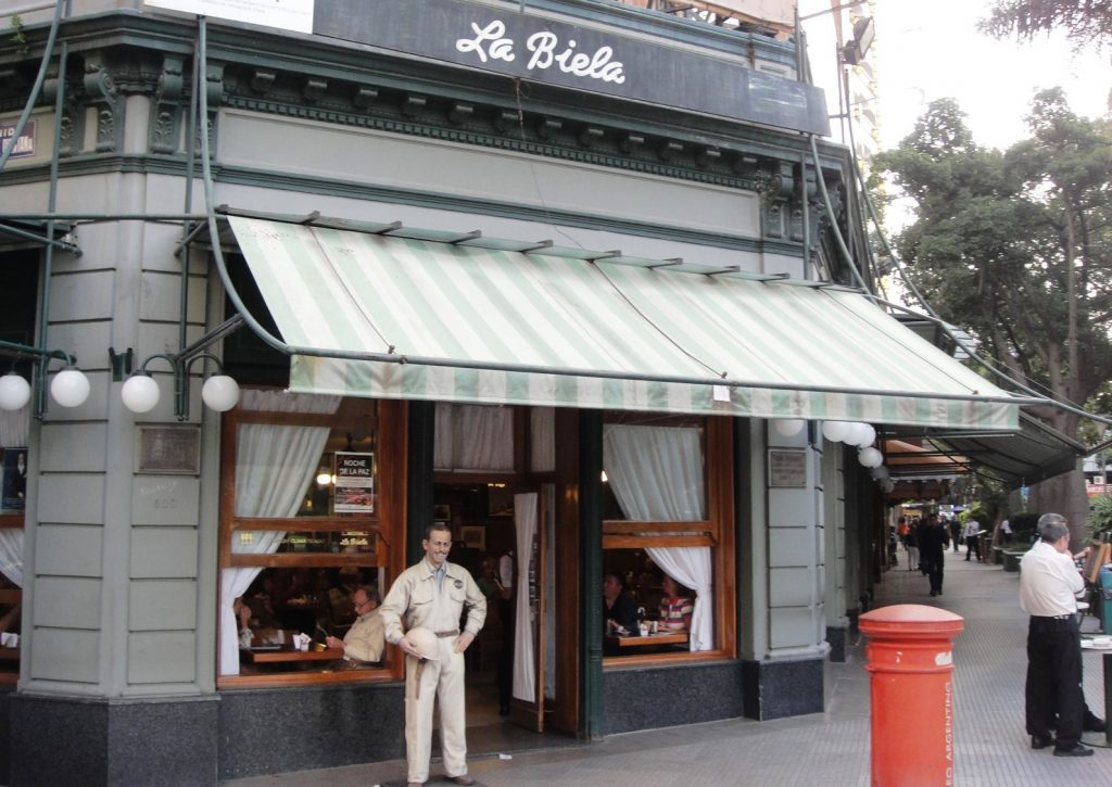 La Biela Restaurant Buenos Aires Recoleta