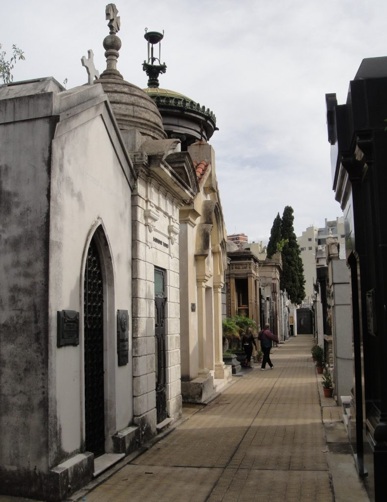 TOmbs in Recoleta Cemetery