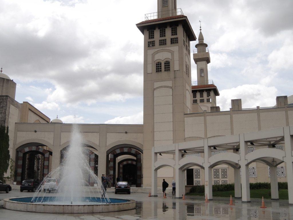 fountain courtyard buenos aires mosque