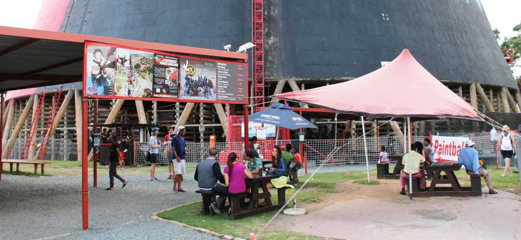 Orlando Towers chilling area