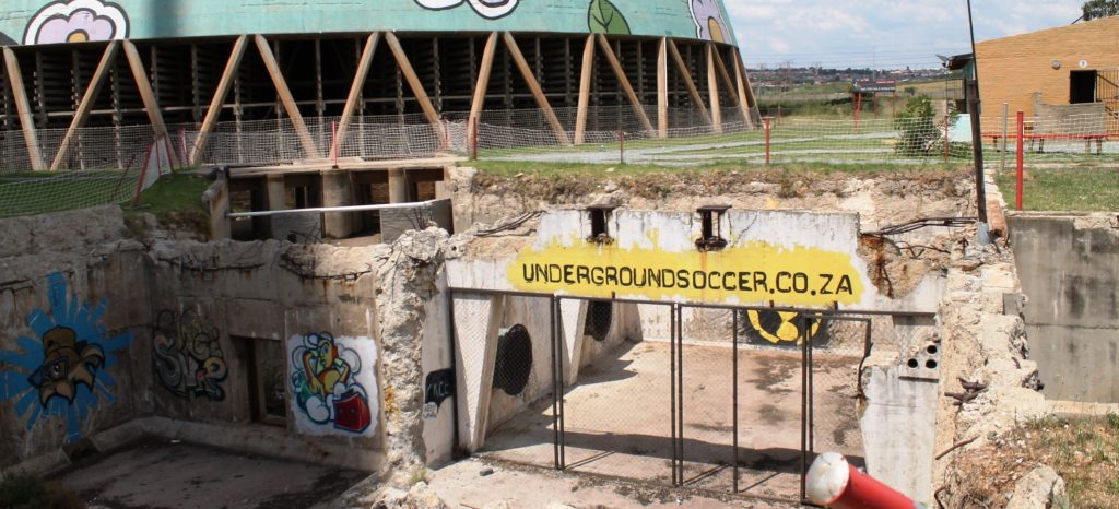 Underground Soccer Orlando Towers South Africa.