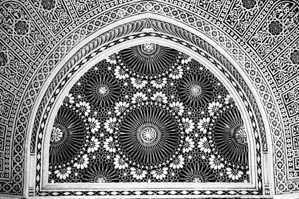 mosaic at mosque of paris