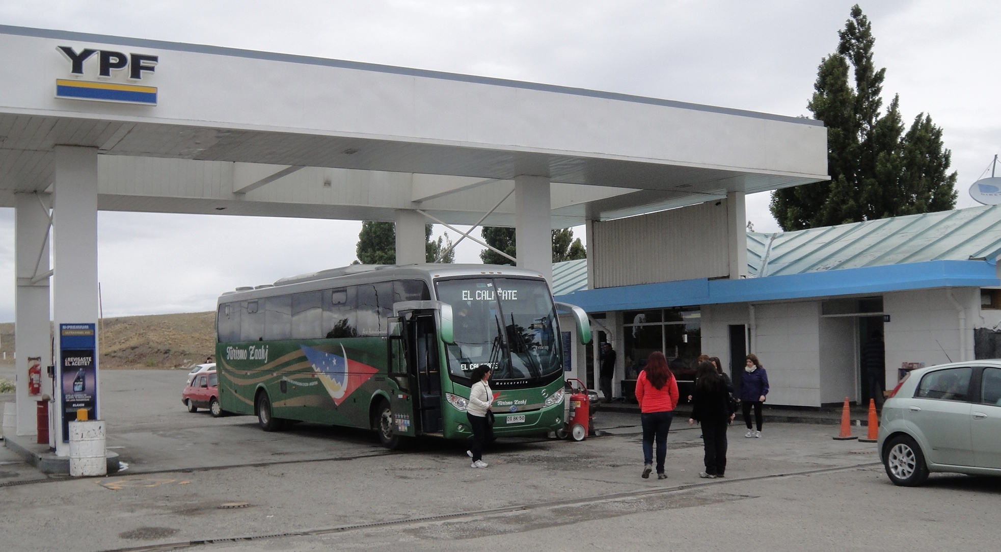 petrol station argentina patagonia