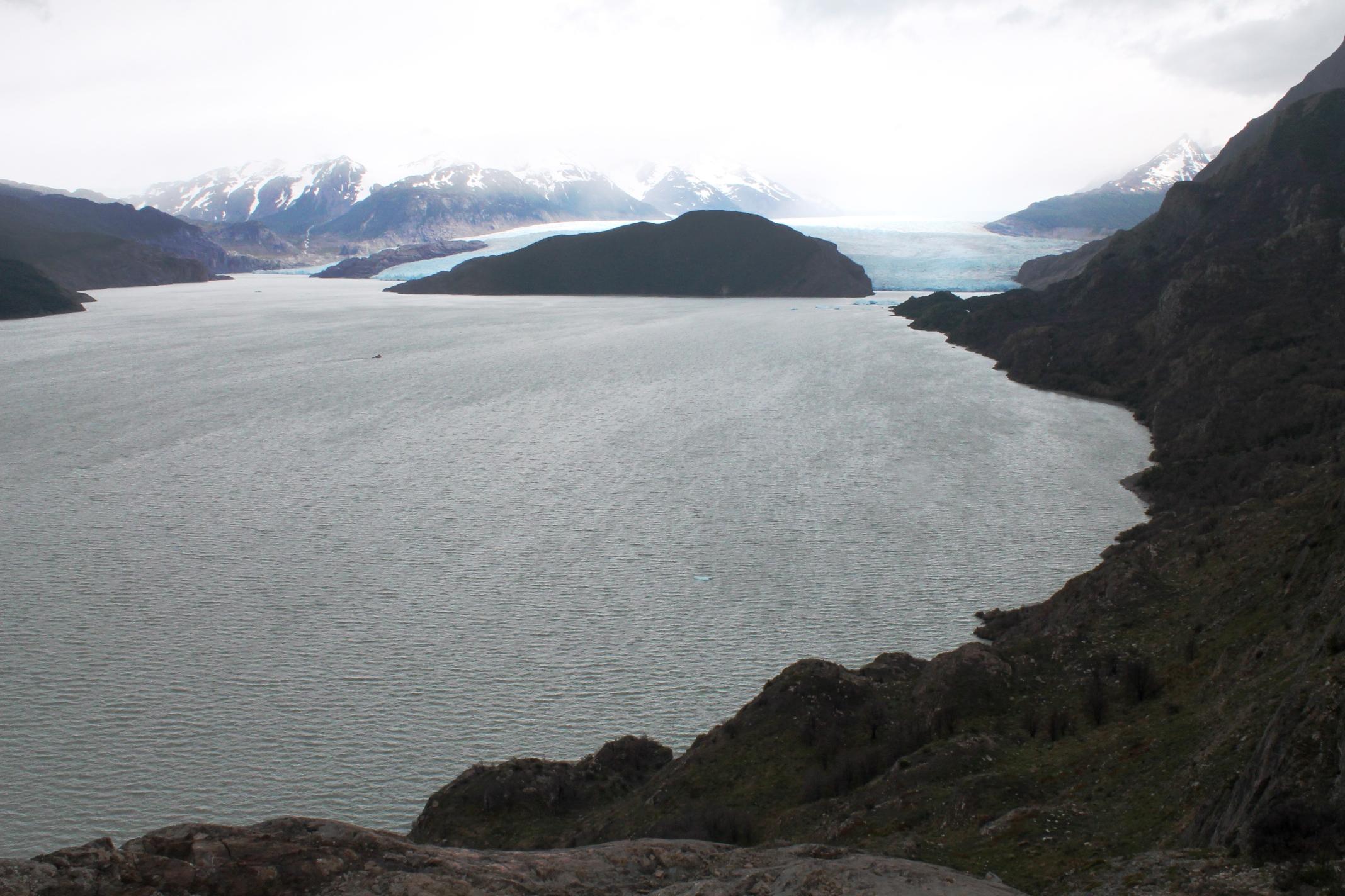 Mirador Grey Torres Del Paine glacier