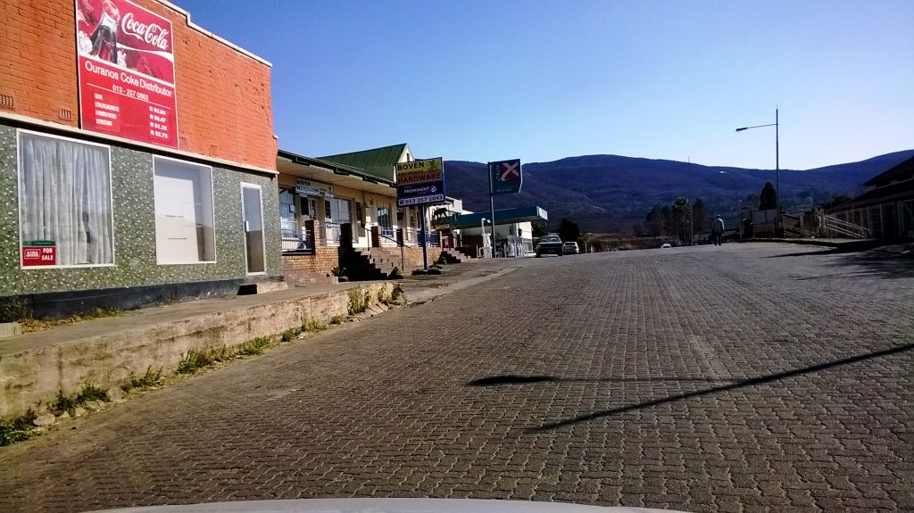 Waterval Boven town