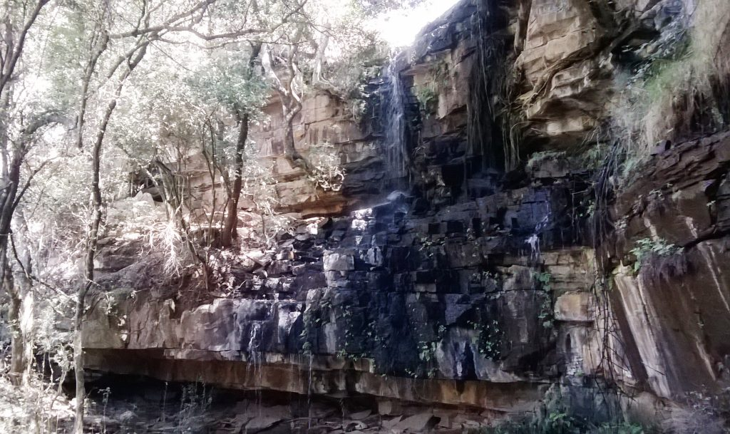Small waterfall Tranquilitas Waterval Boven