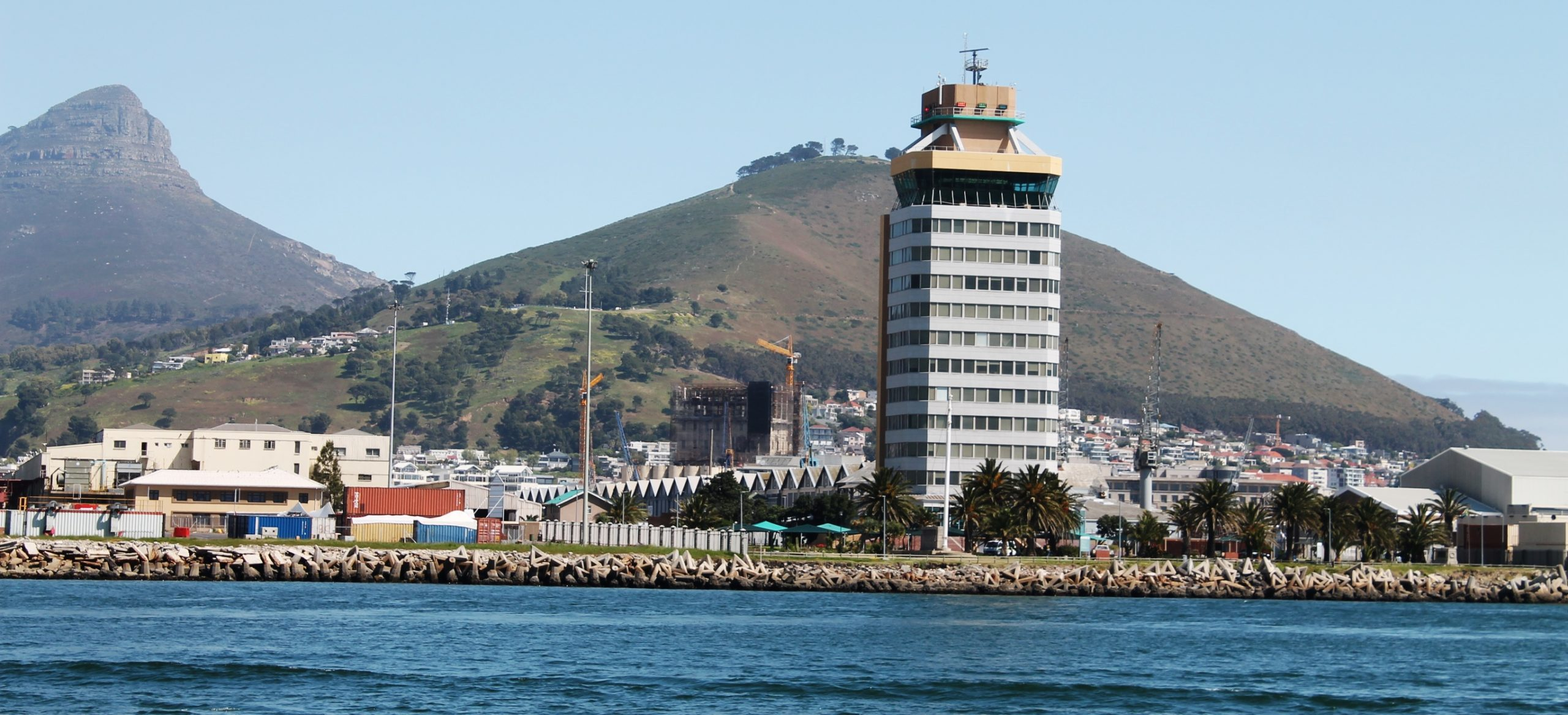 port control tower cape town sea