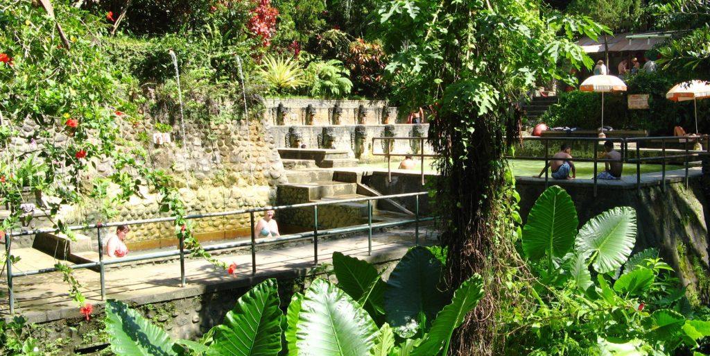 Banjar hot springs in Bali