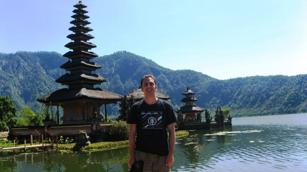Bratan Lake temple Bali